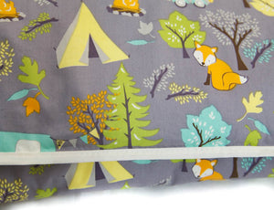 CLEARANCE! Organic Cotton Play Mat - Forest Friends