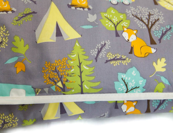 Organic Cotton Play Mat - Forest Friends