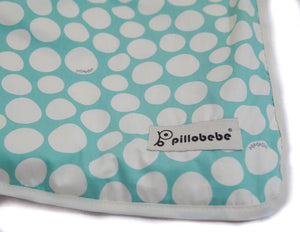 [CLEARANCE] Organic Cotton Play Mat - Pebbles Mint