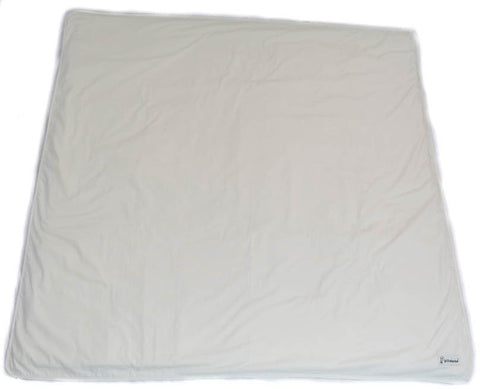[CLEARANCE] Organic Cotton Play Mat Cover - Natural White