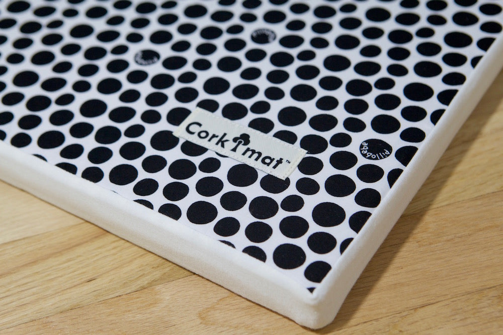 [TODAY'S DEAL] CorkiMat® PLUS - Black pebbles
