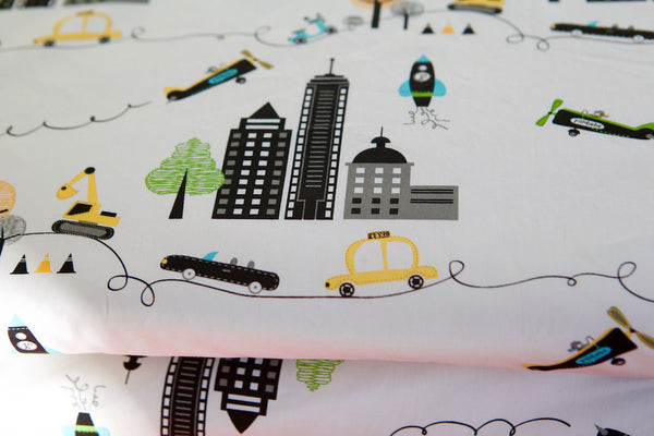 Organic Cotton Play Mat - NYC