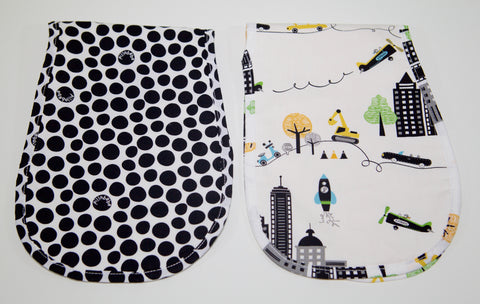 Premium Organic Cotton Burp Cloth - NYC