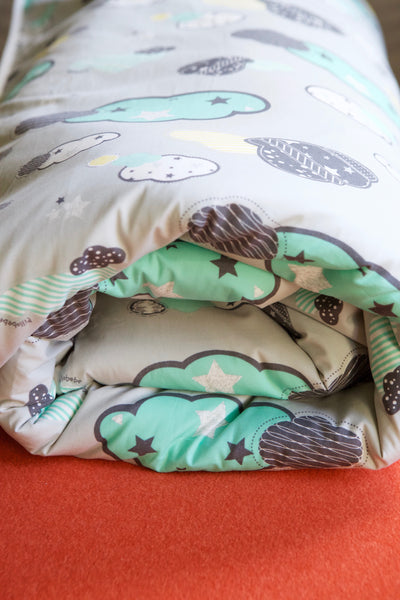 Organic Cotton Play Mat - Dreamy Sky