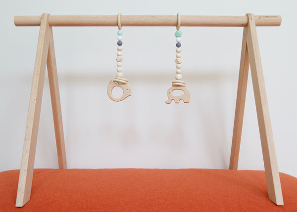Hanging Teether/Rattle set