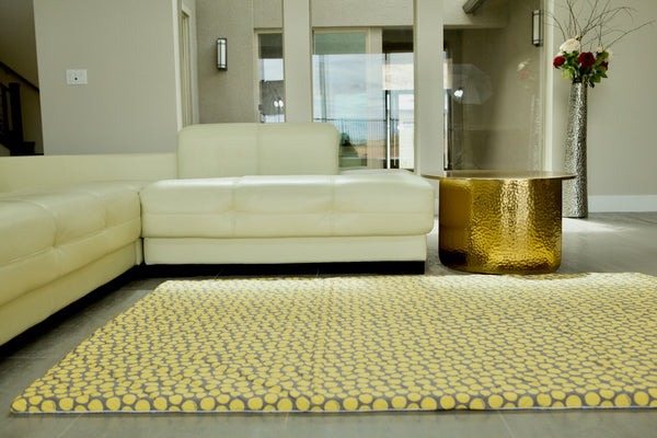 CorkiMat® Comfy - Yellow Pebbles