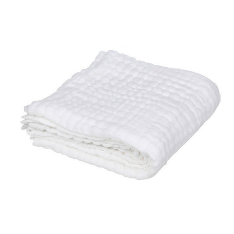 Six Layer Organic Cotton Muslin Quilt Throw Blanket Large
