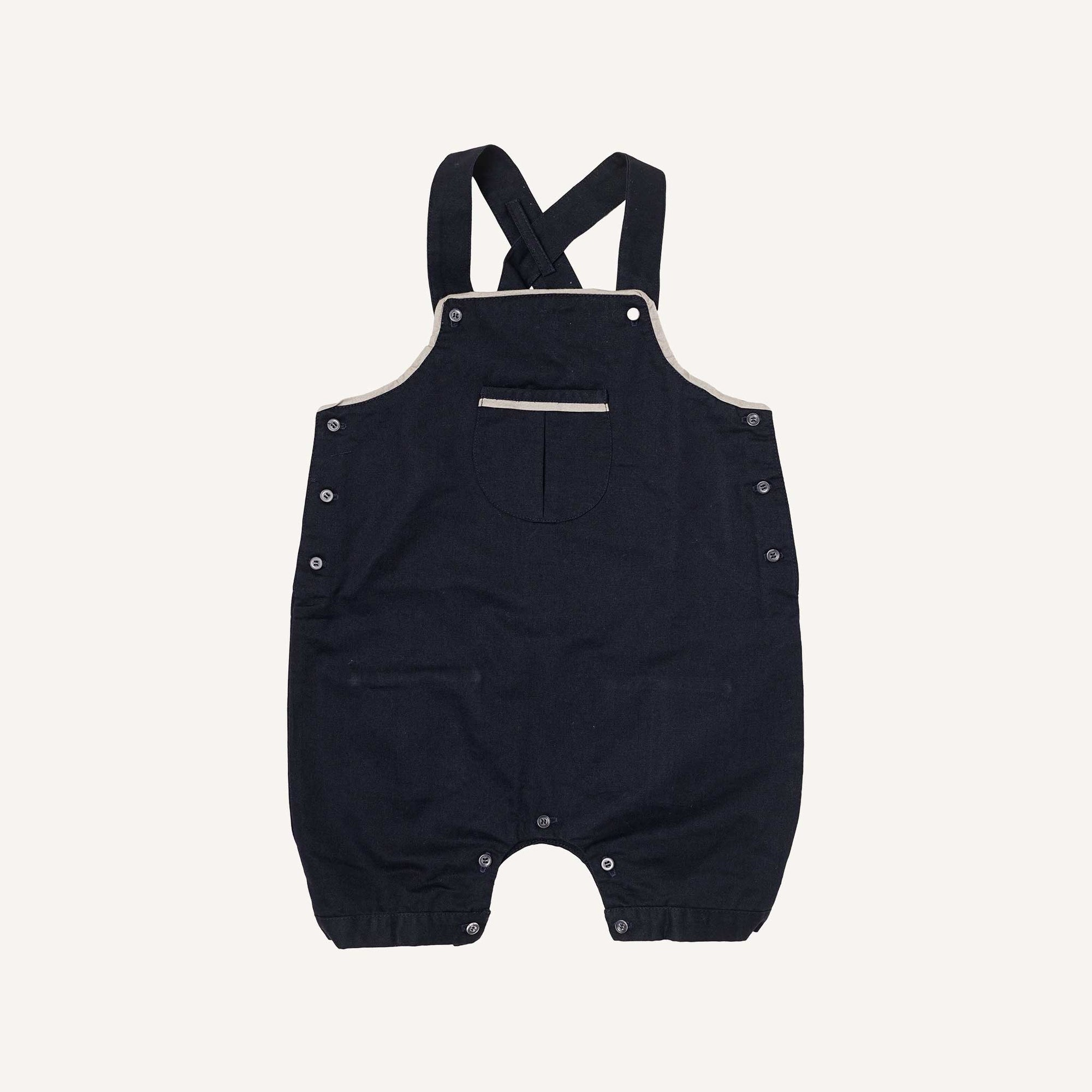 5e69d0f52 Navy and Silver Dungarees - Aravore