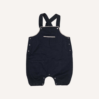 Navy and Silver Dungarees