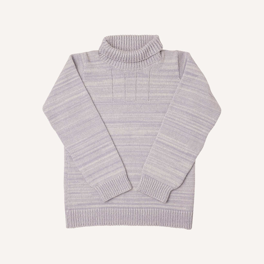 Lavender Roll Neck Jumper