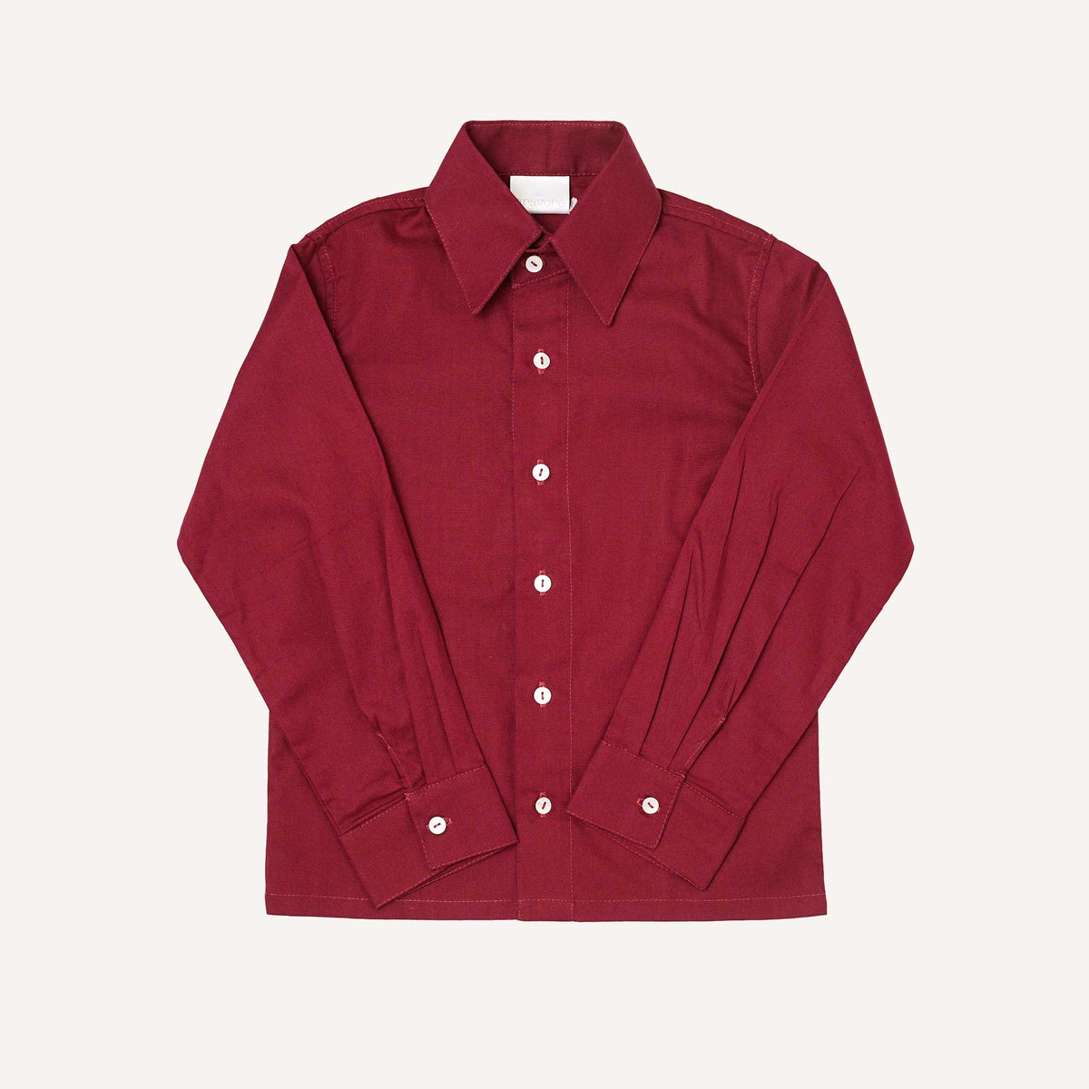 Bordeaux Long Sleeve Shirt