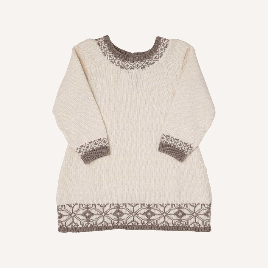 Grey Fair Isle Dress