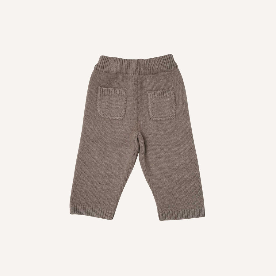 Grey Knitted Trousers