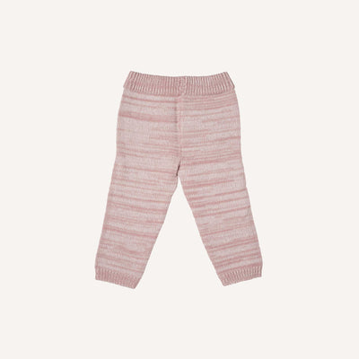 Marl Pink Knitted Trousers