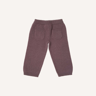 Mauve Knitted Trousers
