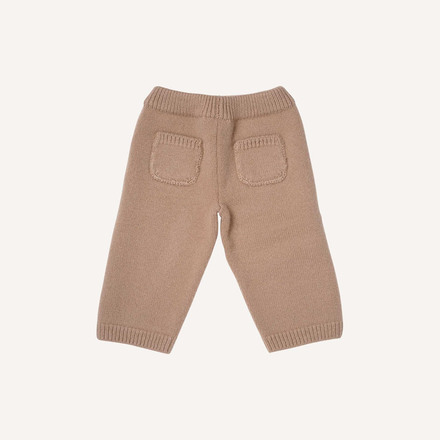 Camel Knitted Trousers