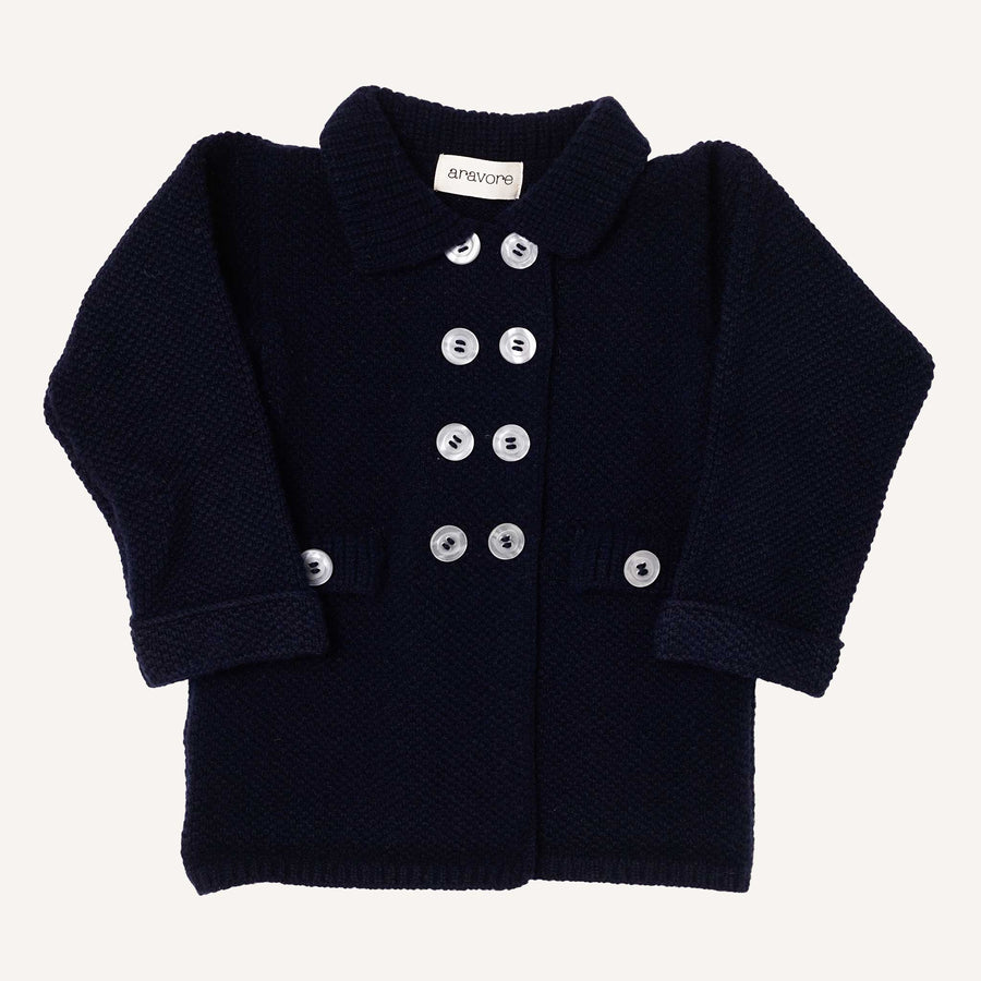 Navy Retro Coat