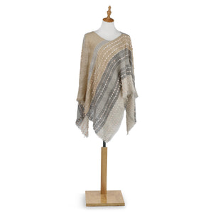 Textured Poncho