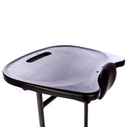 Black Molded Tray for Swing-Away