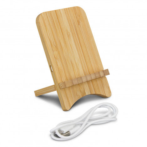 Bamboo Wireless Charging Stand