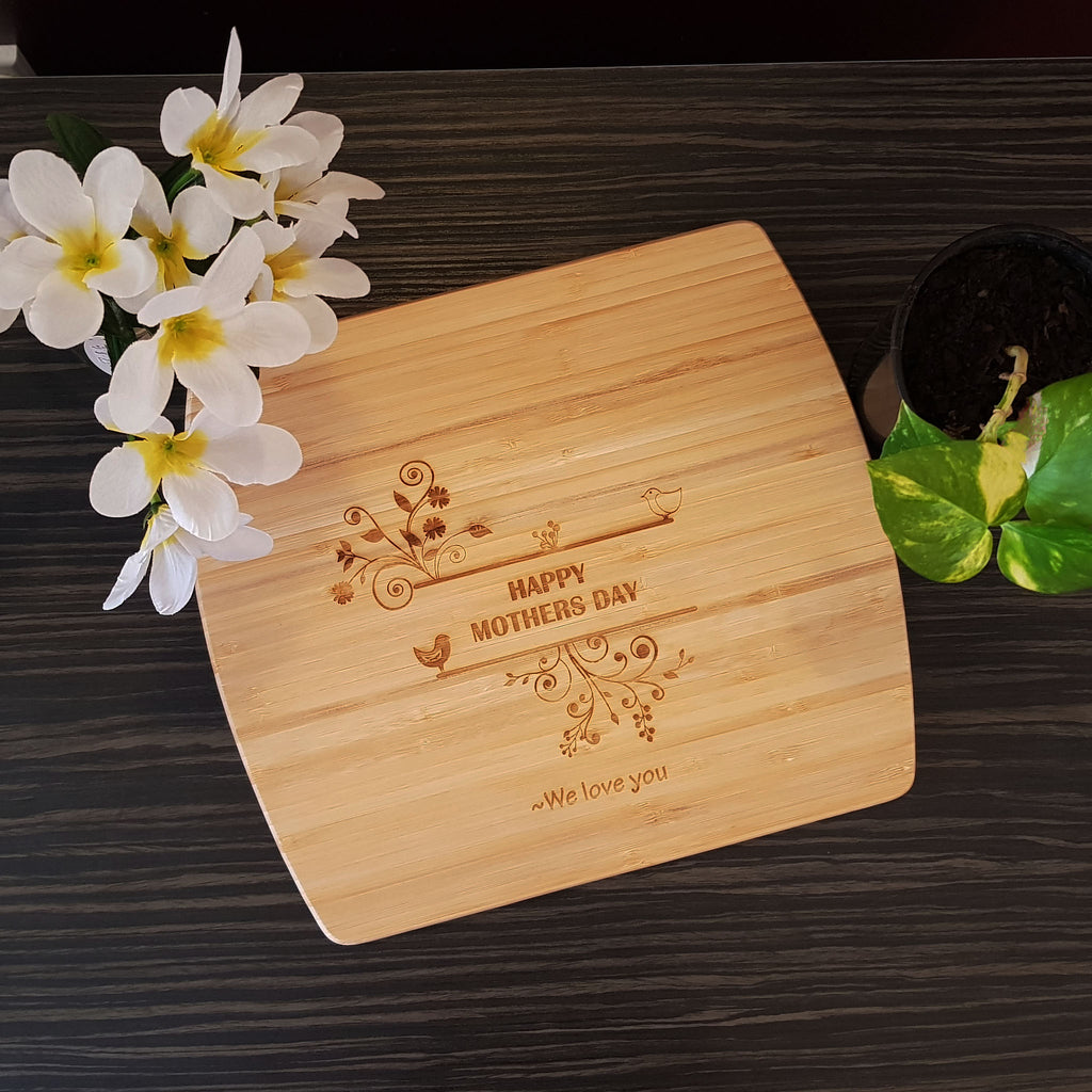 Personalised Wooden Cutting Board as Mothers Day Gift NZ