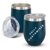 Fully Customised Stainless Steel Navy Tumbler - Powder Coated - Vacuum Insulated