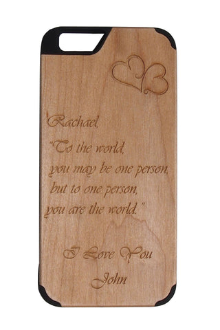 Custom Quote Case iPhone 6plus/6Splus