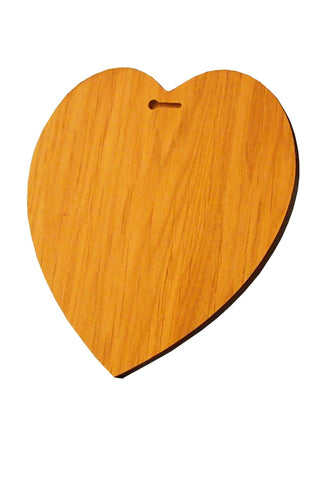 Customised Plaque Heart
