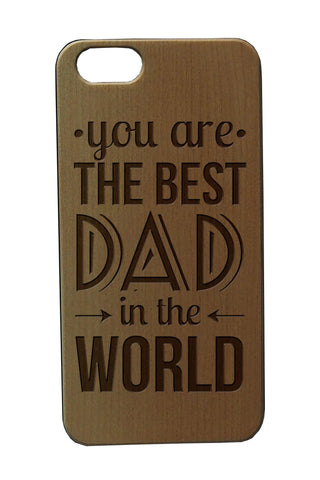 Fathers Day Personalised iPhone 6Plus/6SPlus Wooden Case