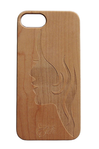 Girl Face Case IPhone 7plus