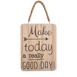 Good Day Fun Wooden Sign