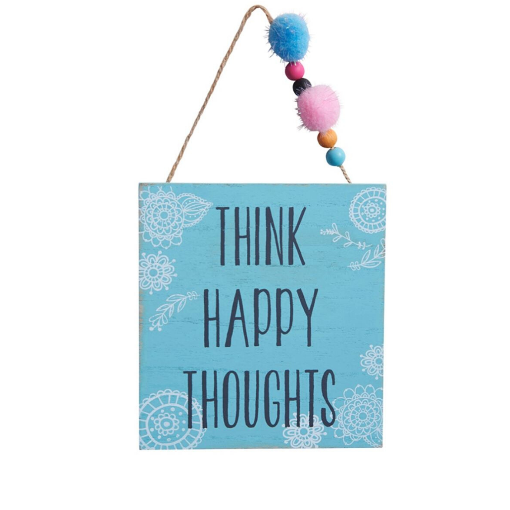 Cute Positivity Home Decor Signs