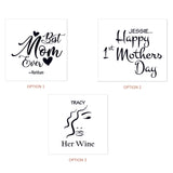 Stemless Wine glass as Mothers day present - Mothers Day NZ