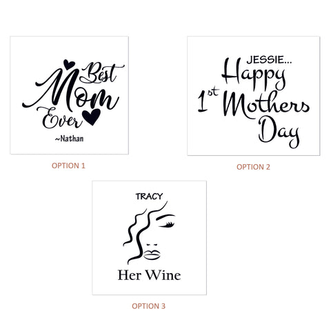 Stemless Wineglass as Mothers day present - Mothers Day NZ