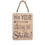 Chic and Uplifting Wooden Sign