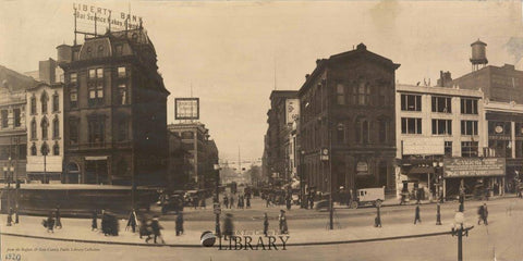Main Street in Motion, November 1920