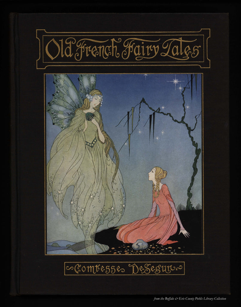 B is for Book Poster: Old French Fairy Tales