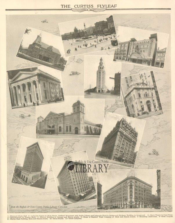 Major Buildings in Buffalo, 1918