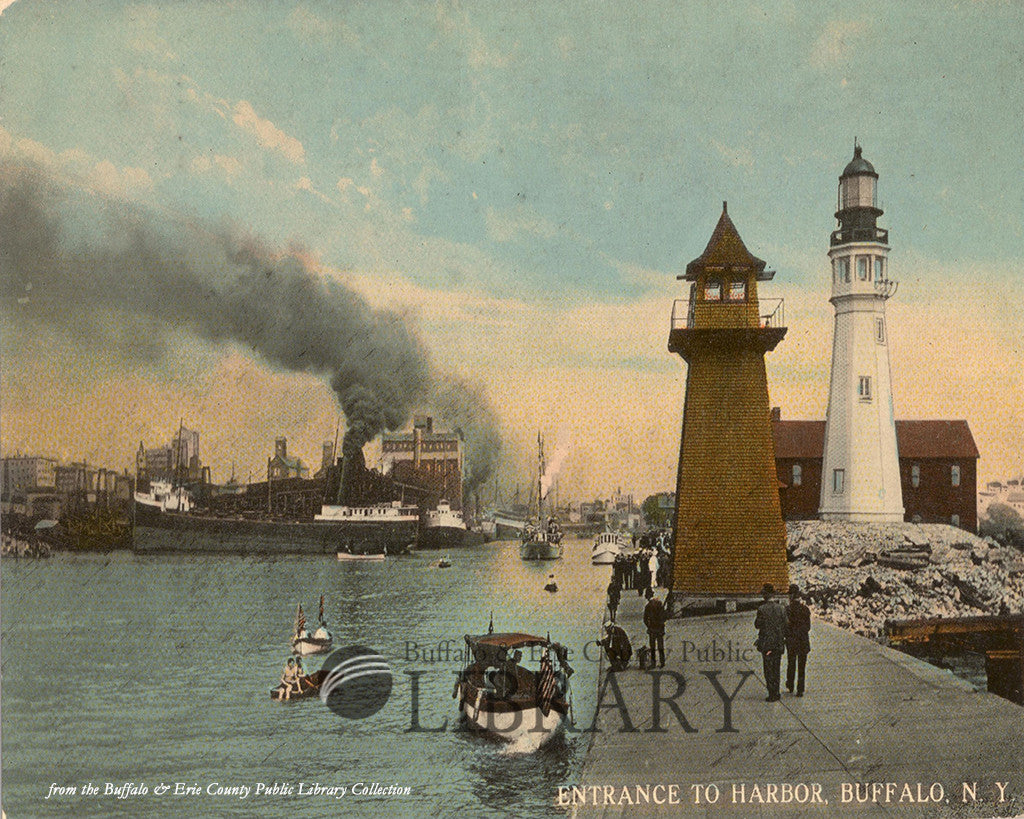 Entrance to Buffalo Harbor