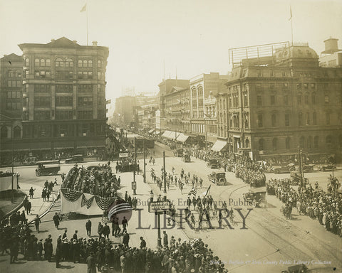World War I Parade at Lafayette Square