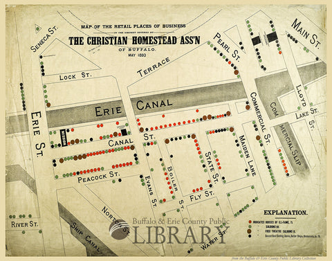 "Roadmap to ""The Wickedest Street in the World,"" 1893"