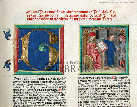 On Early Medical Authority: Galen Opera, 1490