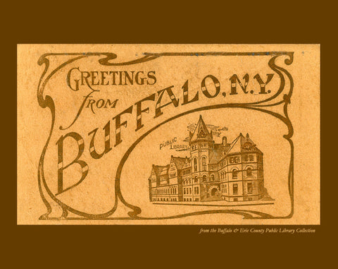 Greetings from Buffalo Notecards (Pack of Six)