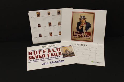 2019 Calendar - Library Card Holder Discount