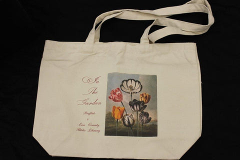 In The Garden Floral Zippered Tote