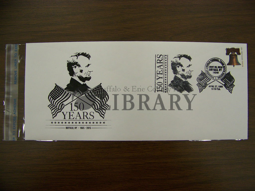 Limited Edition Commemorative Abraham Lincoln Stamp Cancelled Envelope