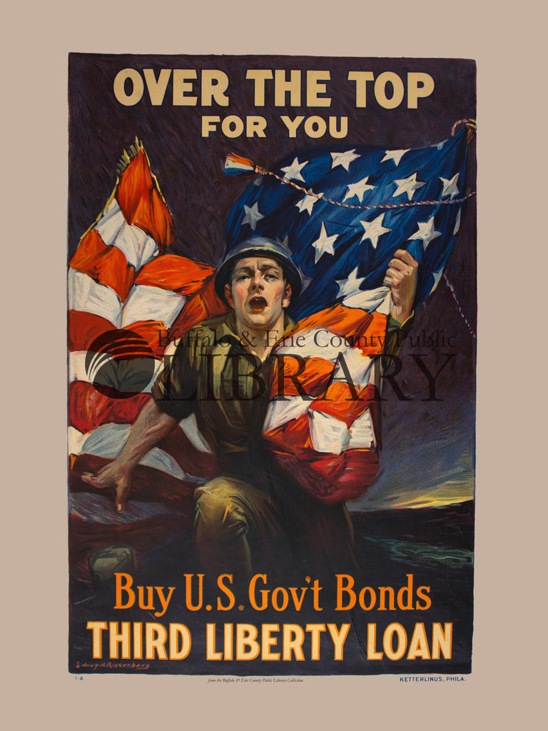 World War I Poster: Over the Top
