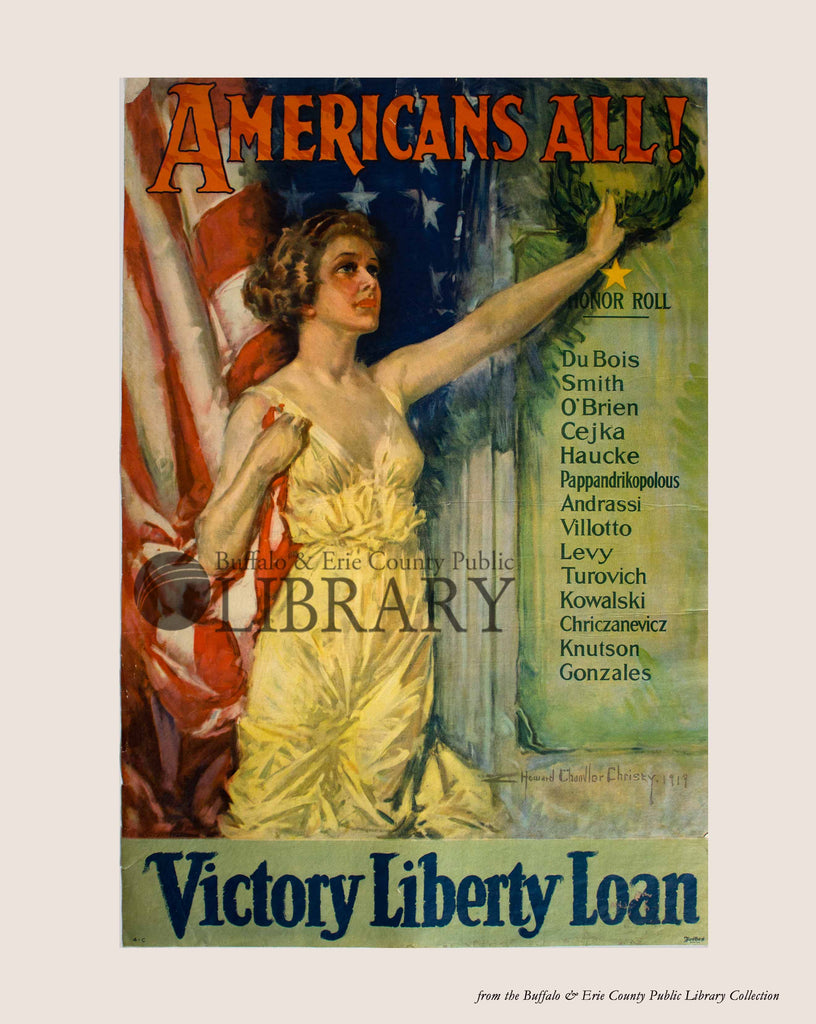 World War I Poster: Victory Liberty Loan