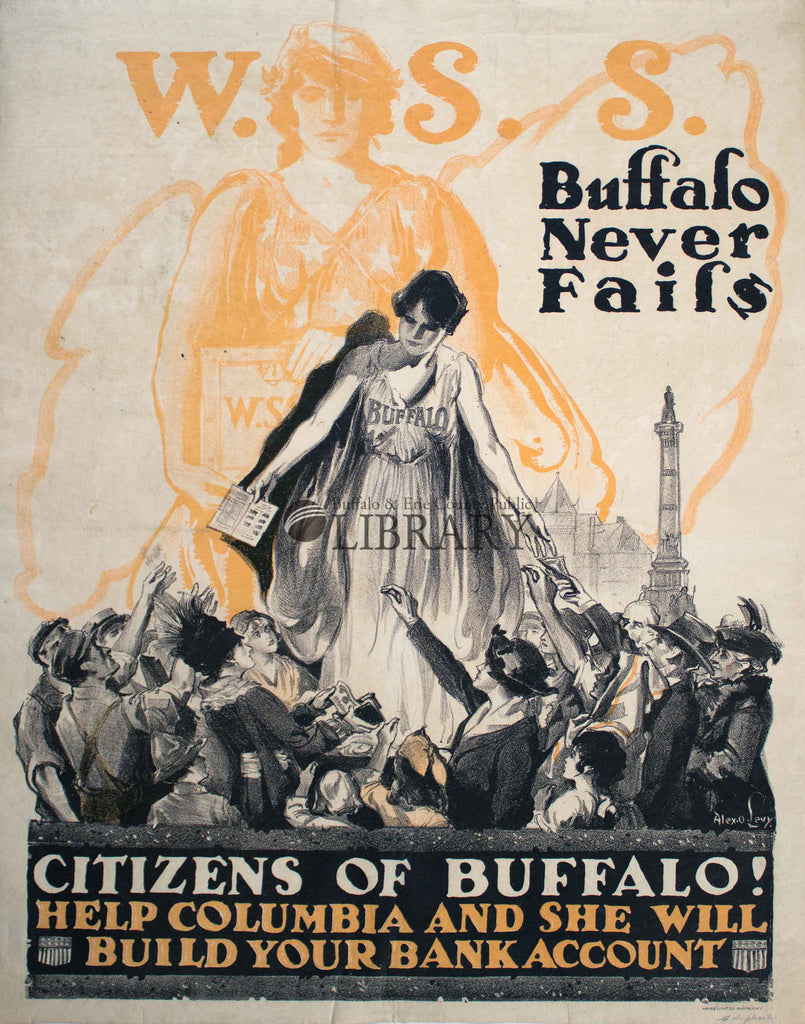 World War I Poster: Citizens of Buffalo