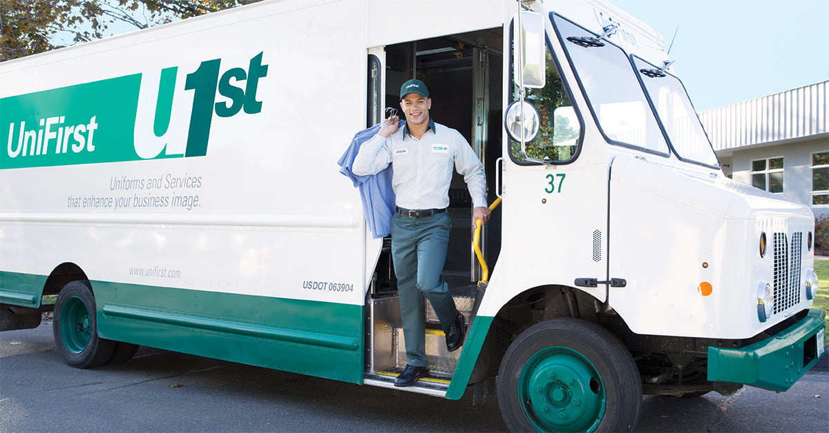 UniFirst RSR delivers uniforms